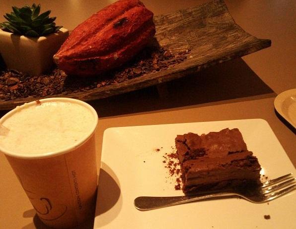 チョコレートとブラウニー