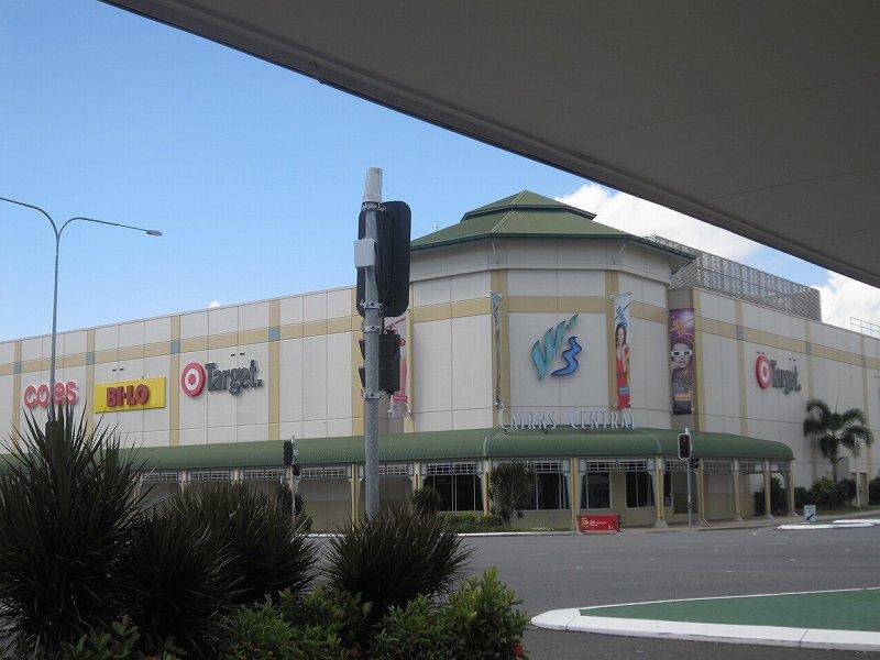近くの大型スーパーのCairns Central