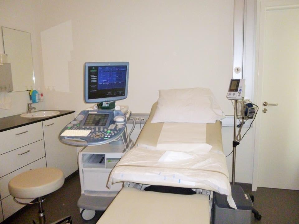 病院の診察室の様子