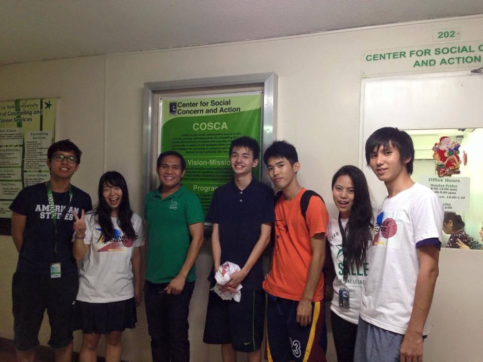 フィリピンの大学に学部留学