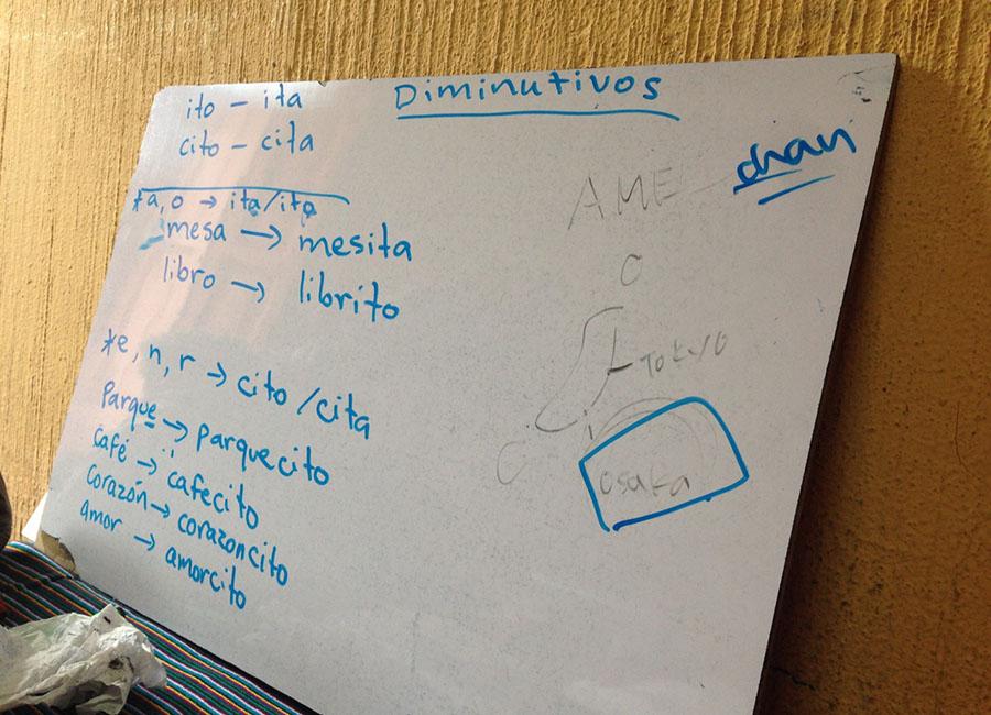 就職に向けてスペイン語を勉強