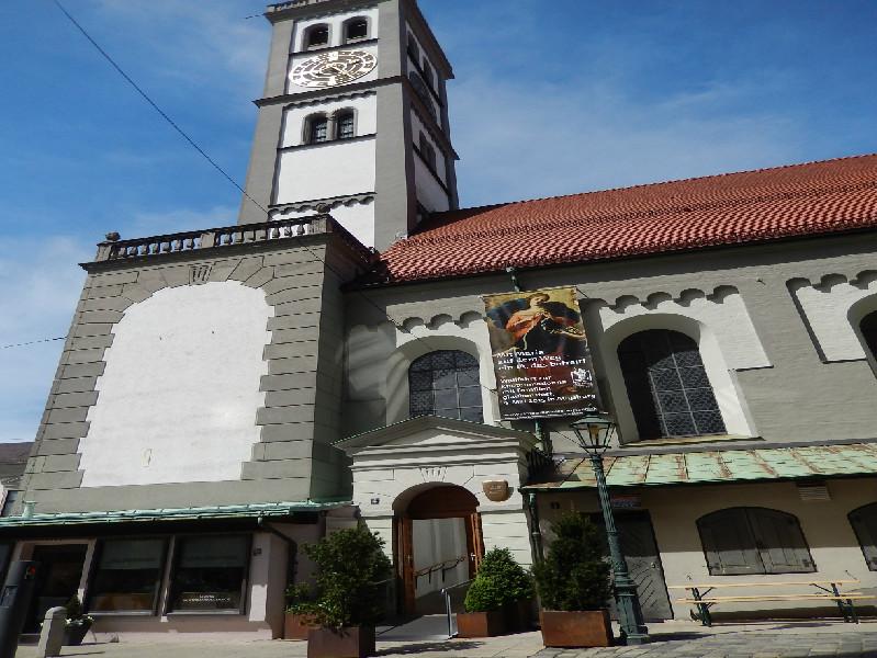 アウグスブルグには教会がこんなにある