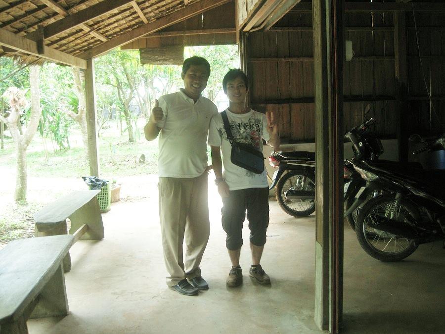 旅先のカンボジアでは・・・