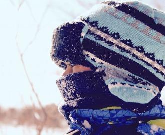 頭と耳が寒い!帽子は必須です!
