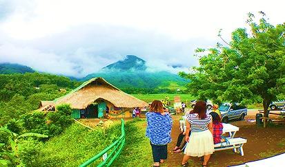 パタグ村絶景一望ガーデン