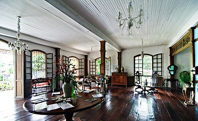 Balay Negrense House の内部