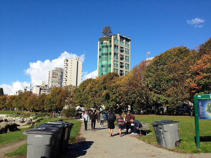 イングリッシュベイです。天気が良い日には観光客、現地の人たちでかなり賑わいを見せます。