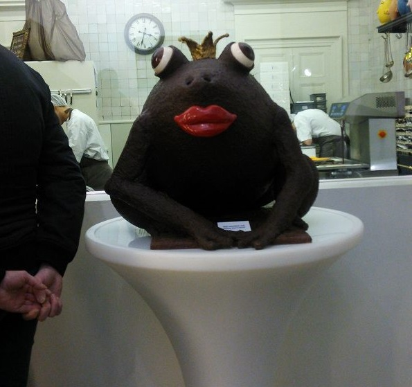 チョコレートのオブジェ