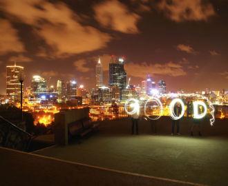 オーストラリア・パースの夜景