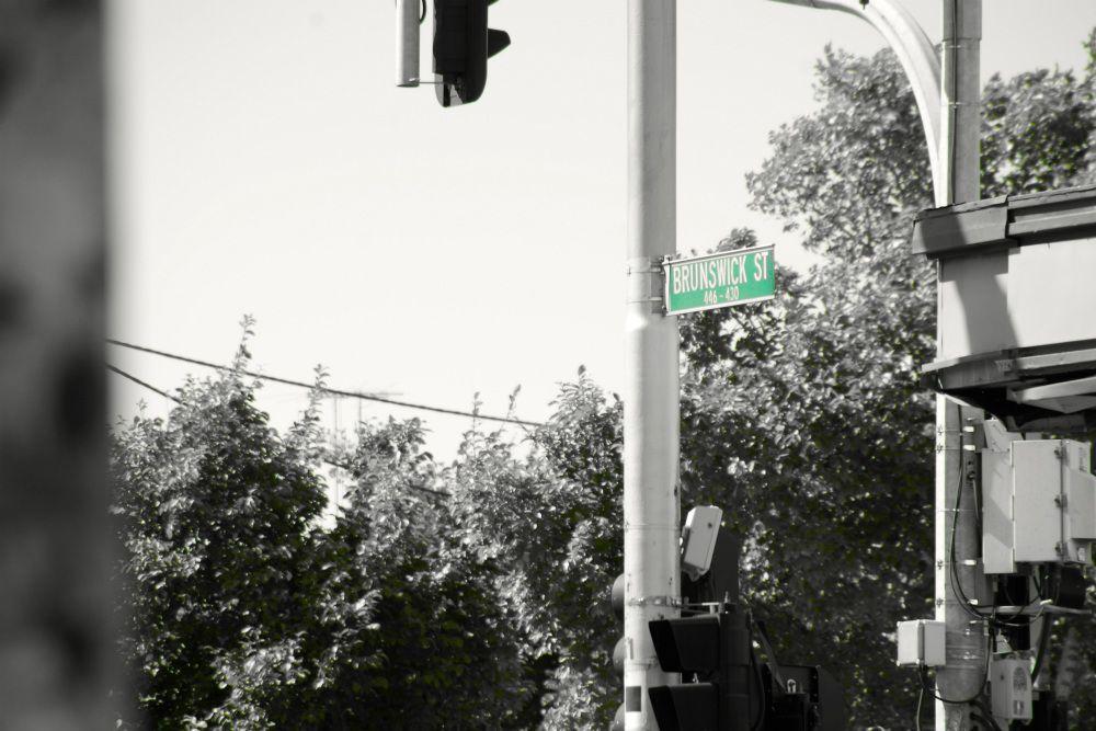 フィッツロイのブランズウィックストリート