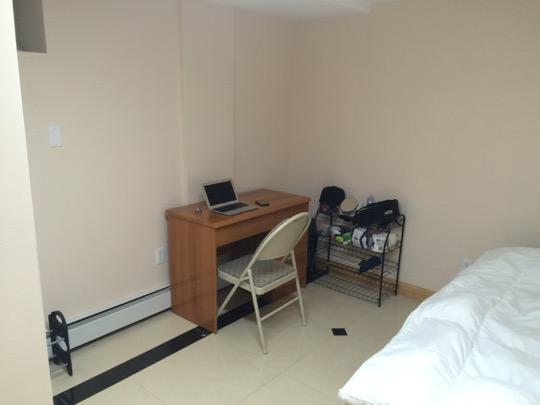 私が住んでいる部屋