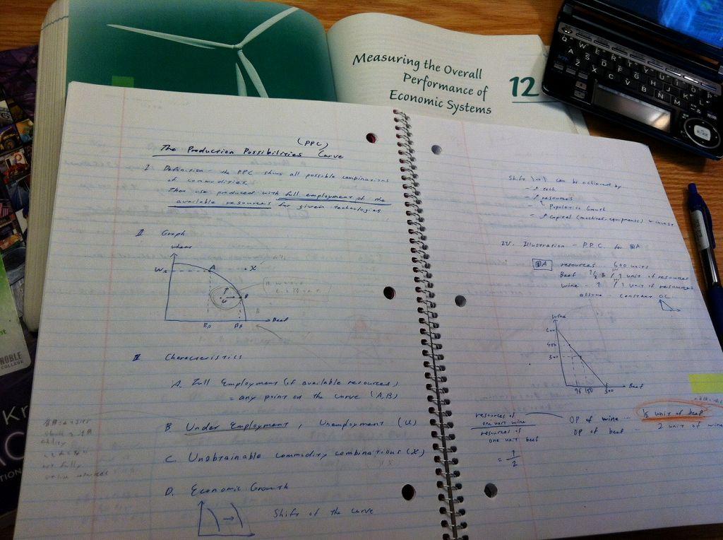 大学では経済を勉強