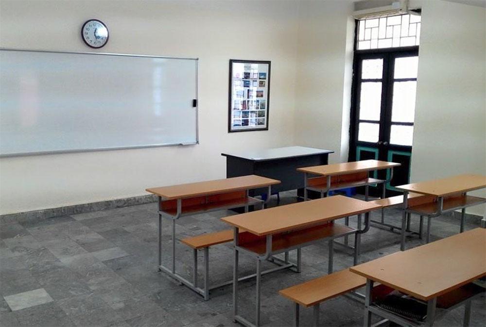 ※写真の様な教室で4ヶ月~6ヶ月日本語を教育し、日本へ派遣する