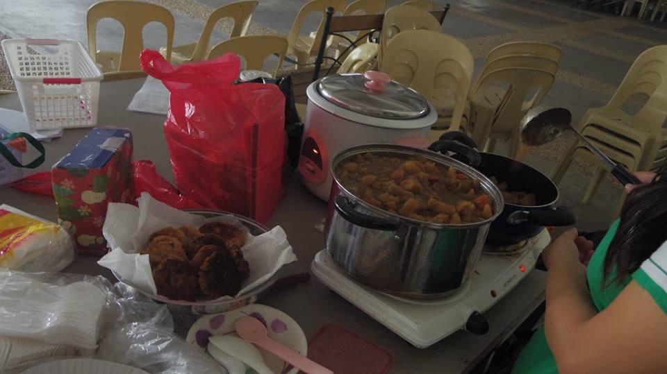 フィリピンの子供たちにコロッケと肉じゃがを用意したけど・・・