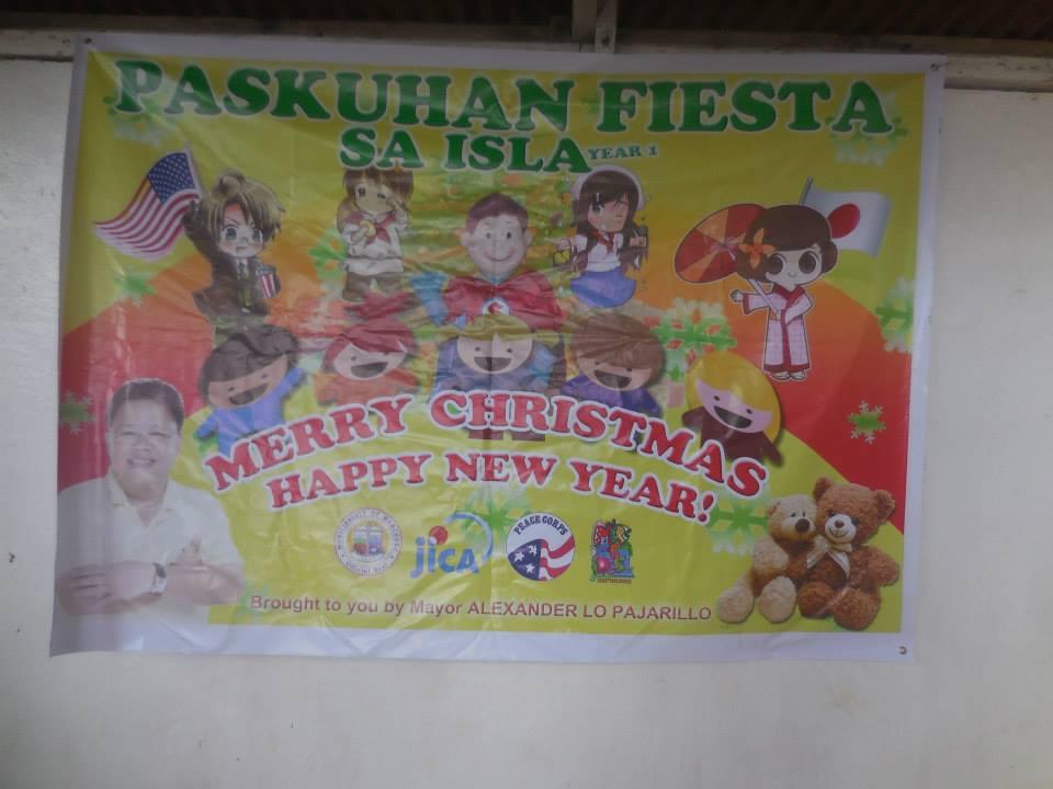 島で行われたクリスマスのギフトイベント_1