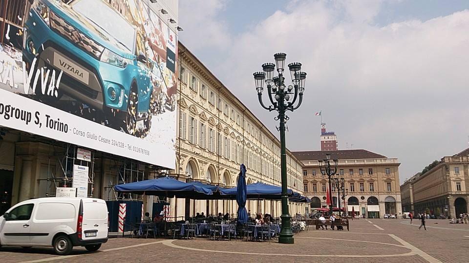ミラノやローマとはひと味違う街並み
