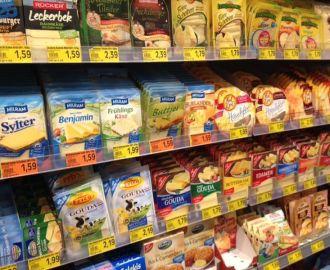 乳製品の種類がたくさんあります♪