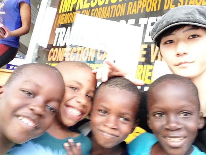 人生初海外一人旅がセネガルでのホームステイだった高校生の方