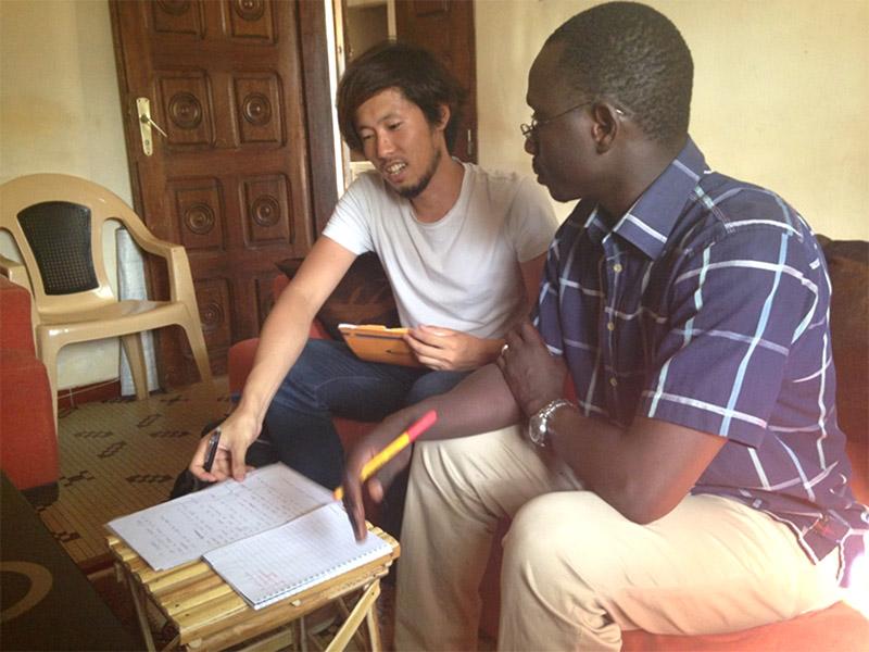 セネガルでホームステイをした日本人2人の感想