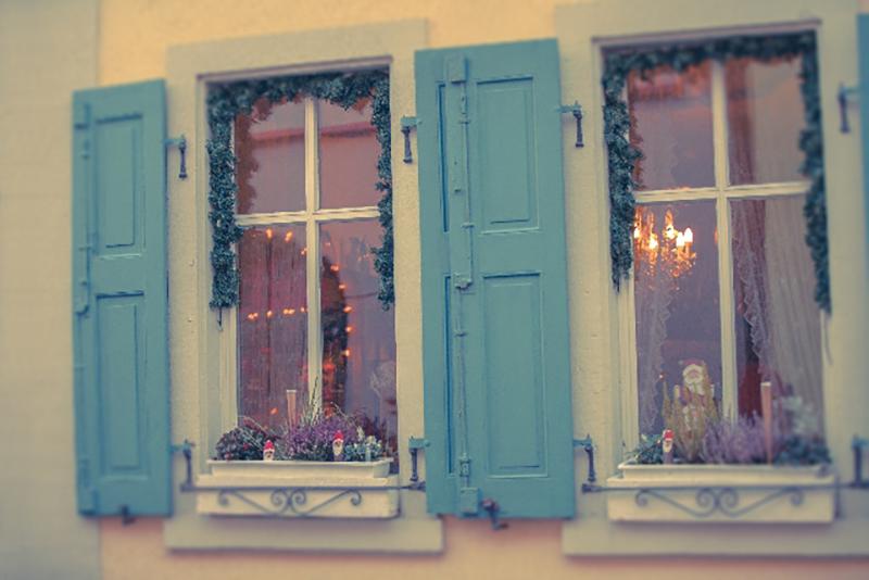 クリスマスデコレーションでお家を飾る