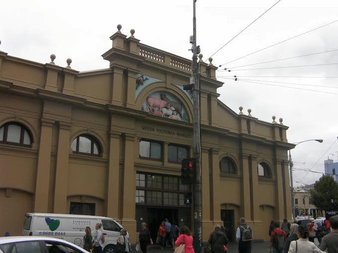 ①Queen Victoria Market