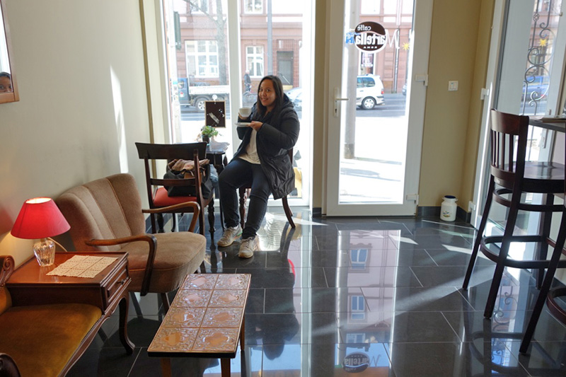 安藤さんの心意気が溢れるカフェ