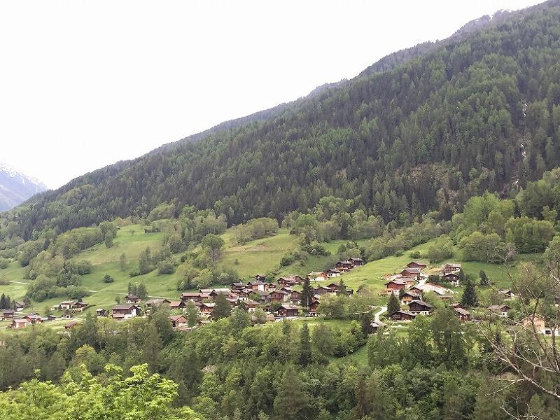スイスの南部ヴァリス州