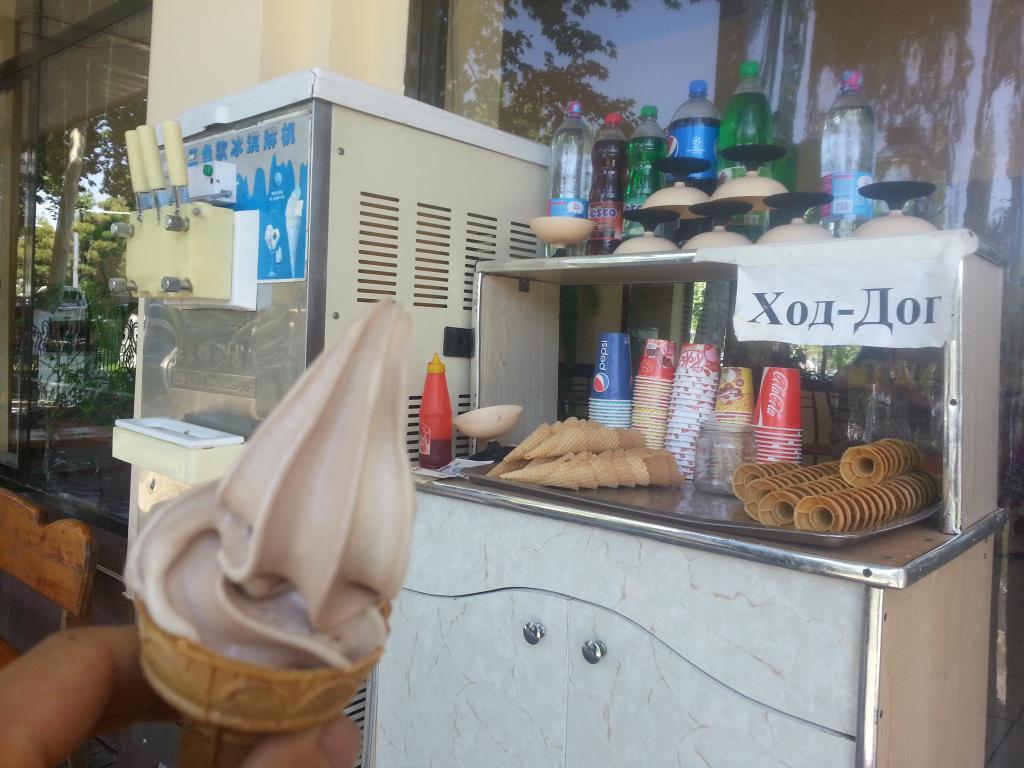 街角ソフトクリーム
