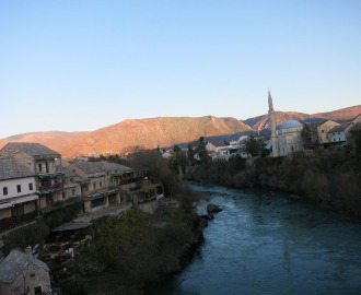 ボスニアヘルツェゴビナの世界遺産のある町モスタルでの出来事