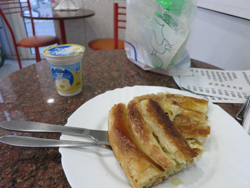 ボスニアヘルツェゴビナ旅行での食事