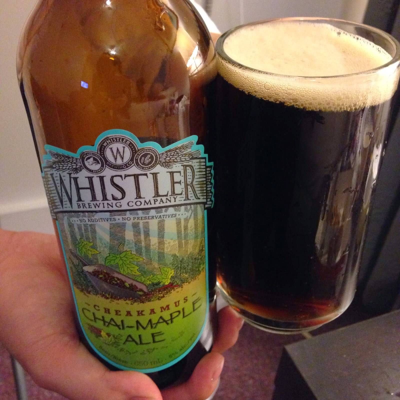 Whistler CHAI-MAPLE ALE